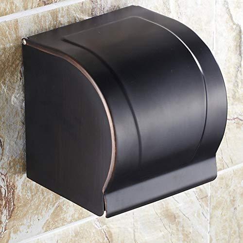 NBE Antike Gewebe Kiste voller Kupfer/Papier Handtuch Halter/WC Papier Box/hängende Wand wc Papierhalter/Bad Regale (Papier-handtuch-halter Hängende)