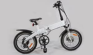 Klappfahrrad 7 Gang Jet-Line E Bike mit Alurahmen, Shimano Schaltung, Samsung Akku hochwertig mit Scheibenbremsen Faltrad
