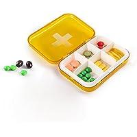 Portable Pill Box Reise Rezept & Medikation Pille Fall Dispensing Box Verpackung Kit.LYY.YY preisvergleich bei billige-tabletten.eu