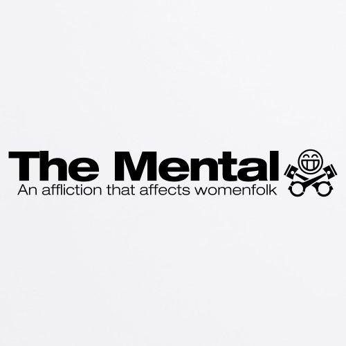PistonHeads Mental T-Shirt, Herren Wei