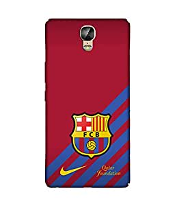 chnno Fcb 3D Printed Back cover for Gionee Marathon M5 Plus -Multicolor