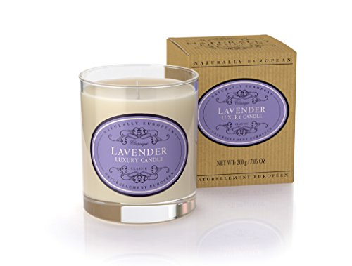 Naturally European Freesia and Pear Scented Luxury Candle 200g 40 Hours Burn -