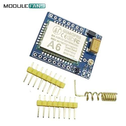 A6 Mini GSM GPRS Development Quad-Band Board SMS Audio Board 5V ersetzen Sie SIM800L bei TCP IP-Befehl digitale Audio-sprach Codierung Sms-quad