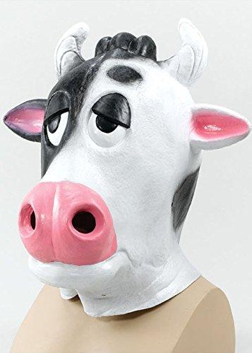 mische Kuh Gummimaske (Komische Kuh)
