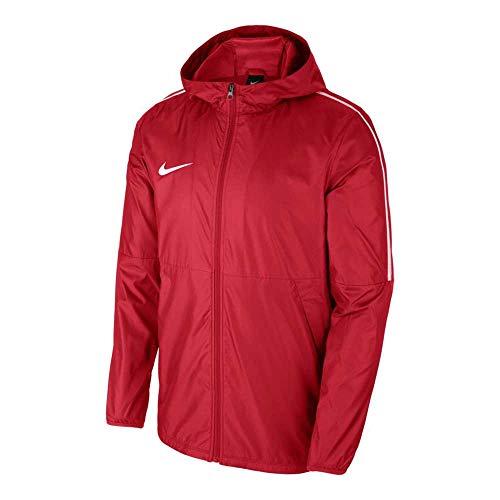 Nike Kinder Dry Park18 Regenjacke, Rot (Red/White), M