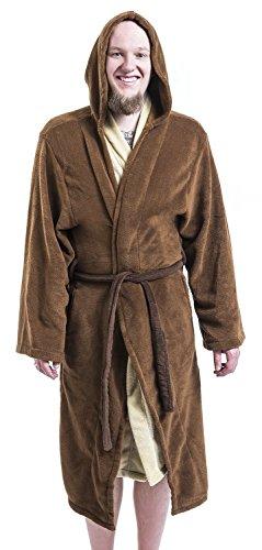 Star Wars Jedi Bademantel braun/beige Braun/Beige