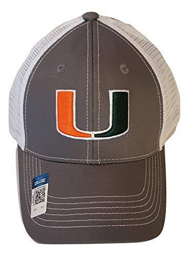 Miami Hurricanes verstellbar grau Cap Mesh Snapback Hat