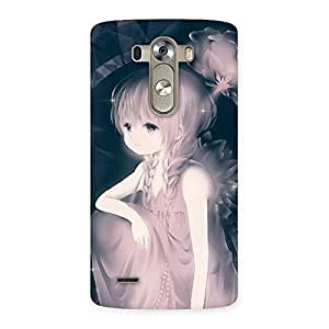 Enticing Rose Paradise Multicolor Back Case Cover for LG G3