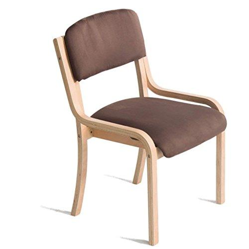 VIOY Freizeit Western Table Short Stuhl Massivholz Niedriger Rücken Tuch Esszimmerstuhl Europäischen Hotel Coffee Shop Hocker 45 * 53 * 83 cm,C - Garage Shop Hocker