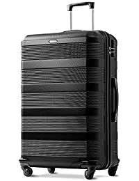 Merax Super Lightweight ABS Hard Shell Travel Spinner 4 Wheels Suitcase Luggage Free 3 Years Warranty (20,24,28)