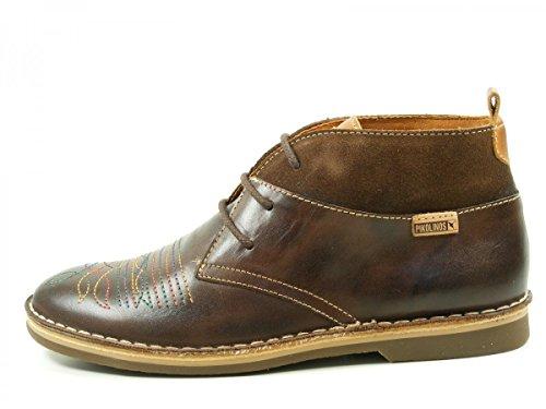 Pikolinos Kimberley W3C-7602 Desert Boots Schuhe Damen Stiefeletten Braun