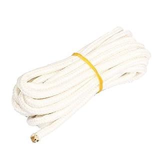 DealMux Nylon de la Cuerda 188cm Longitud 2pcs Blanca para la Cama Colgante al Aire Libre Hamaca