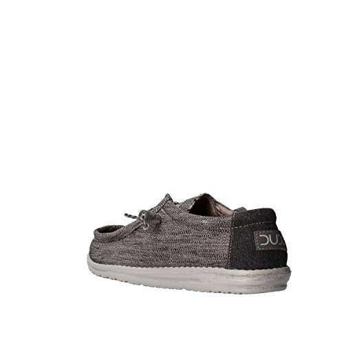 Dude Shoes Men's Wally Woven Carbone Blue