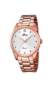 Lotus 18144/1 - Reloj de Pulsera Mujer, Color Dorado