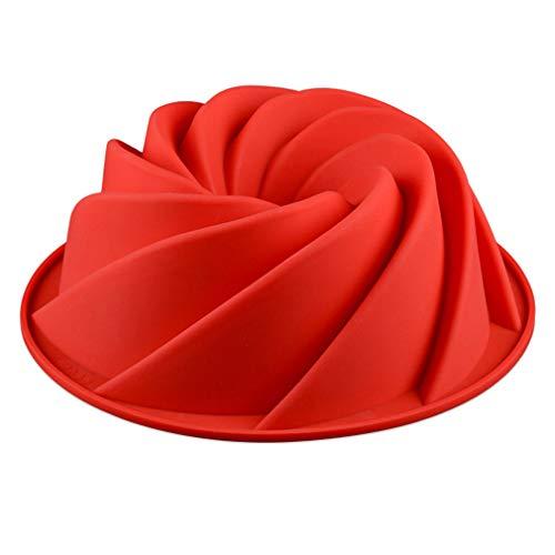 Antihaft Silikon Backform Kuchenform - Bundt Backform Kuchenbackform für Kuchen/Gugelhupf/Cake ()