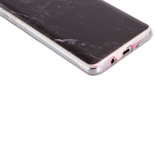 Custodia Cover iPhone 6 Plus / 6S Plus, IJIA Ultra Sottile Marmo Bianco Sporco TPU Silicone Morbido Protettivo Coperchio Skin Custodia Bumper Protettiva Case Cover per Apple iPhone 6 Plus / 6S Plus (5 WM74