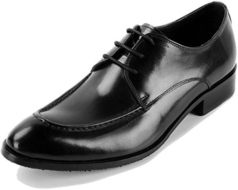 ZPFDY Männer Europa Business Lace Casual Bankett Mode Lederschuhe