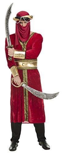 Disfraz de guerrero árabe para hombre, M-L