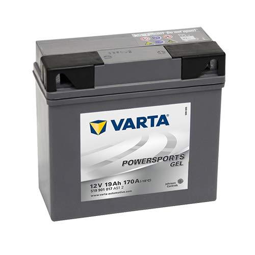 Nickel-eisen-batterie (Varta Powersports Gel 51901-batería-Moto)