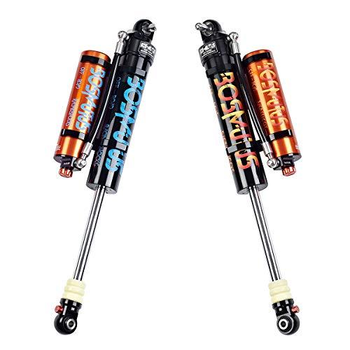 2pcs Bosmutus Shock Lift,2.5 Performance Rear Shock Left/Right DSC Adjuster 2/4Door J-eep Wrangler JK JKU Unlimited Sport Sahara Rubicon 4WD/Replacement Shocks 0-2.5