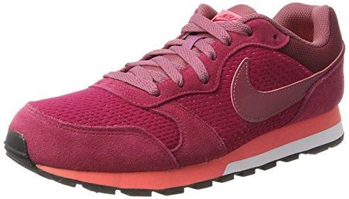 Nike Damen MD Runner 2 Sneaker, Rot (Noble Re D Port Hot Punch), 38.5 EU