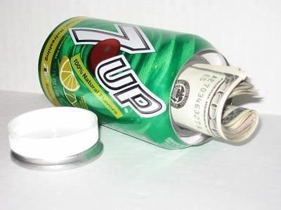 7-up Soda Pop Can Safe by Undercover Can Safe (7up Soda)