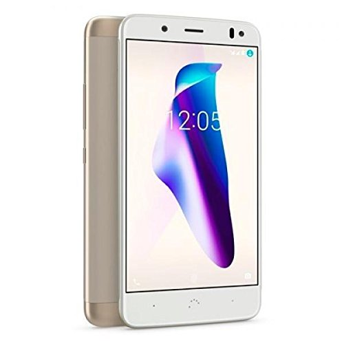 bq Aquaris V 5.2' SIM Doble 4G 3GB 32GB 3100mAh Oro, Blanco - Smartphone (13,2 cm (5.2'), 3 GB, 32 GB, 12 MP, Android...