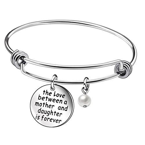 Awyuan - braccialetto per la festa della mamma, ottima idea regalo madre-figlia