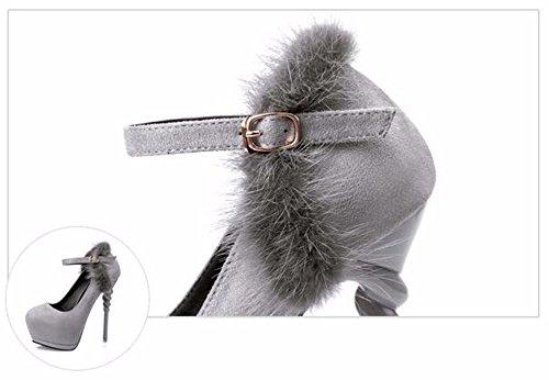 FLYRCX In stile europeo moda sexy signore impermeabile tacchi alti e scarpe di partito A