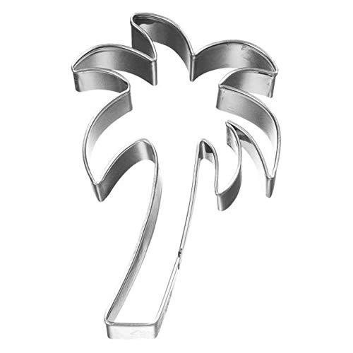 Birkmann 1010722010 Ausstechform Palme, 8 cm, Kunststoff, Grau, 5 x 3 x 2 cm
