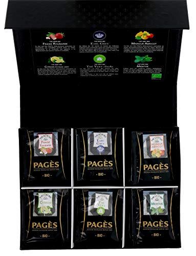 Pagès Coffret en carton de thé B...