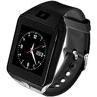 Pomya Teléfono Smart Watch para niños, Mini Reloj para niños Anti-pérdida para niños Reloj Inteligente de Seguimiento de Actividad Reloj Inteligente, Monitor para niños Smart Safe Watch(Negro)