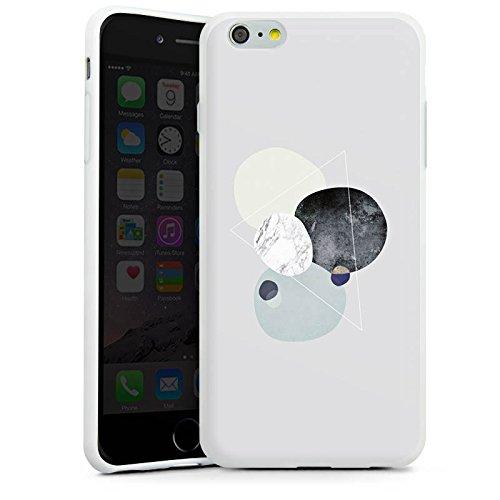 Apple iPhone 5s Silikon Hülle Case Schutzhülle Abstrakt Grafik Art Silikon Case weiß