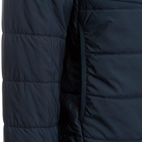 Fjällräven Herren Keb Padded Hoodie Pullover & Sweatshirts, Schwarz, Einheitsgröße nightsky dark blue 575