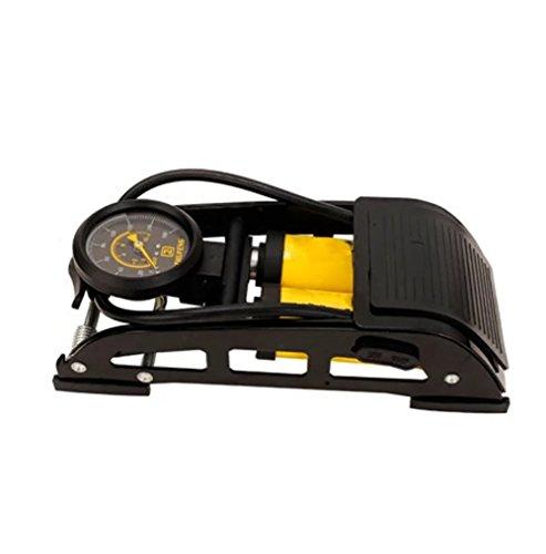 RUIX Hochdruck Standpumpe (Tragbare Fahrrad Fuß Pumpe, Gut Für Straße, Berg, Fahrräder)