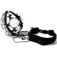 UNAOIWN - Zapatillas de entrenamiento de fútbol para niños, adultos, con cuerda elástica universal para pelotas de 3, 4 y 5