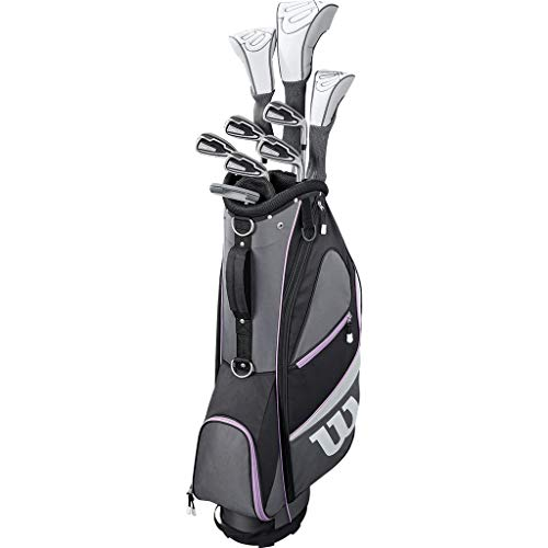 WILSON Golf 2019 Dames X31 Complete Graphite Shaft Package Set Stand Bag - RH Graphite Stand Bag...