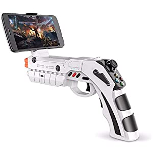 Vernwy Bluetooth Handle Pistol Smart Game Gun Body Phone Mobile Rocker Game Pistol