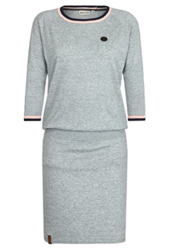 Naketano Female Dresses Alle wollen bumsen II Grey Melange, S