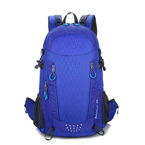 Mens Multifunktions-Multi Versenkten Großräumige Wasserdicht Reise Sport Rucksack,Blue Blue