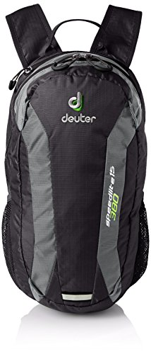 Deuter Speed Lite Mochila para Escalada, Unisex adulto, Negro (Black / Granite), 15 l