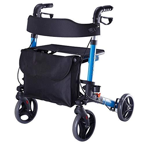 Laufrahmen, Tragbares 4-Rad Mit Mobilitätshilfen, Können Als Einkaufswagen Verwendet Werden