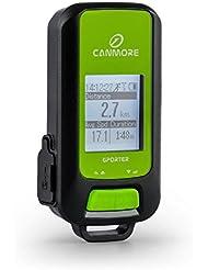 Klarfit Canmore Global Guide GPS Tracker GPS Gerät zum wandern (Schrittzähler Sportcomputer, Routenplan, für Geocaching, speichert bis 300.000 Wegpunkte, Fototagging)