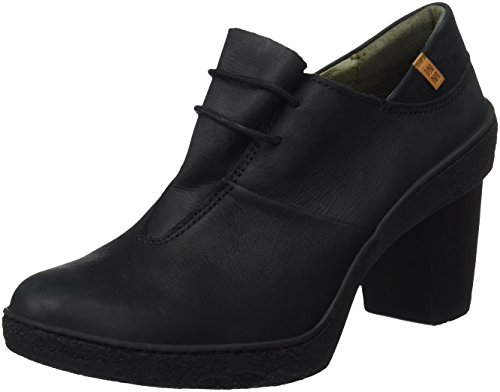 El Naturalista Damen Nf70 Pleasant Lichen Pumps, Schwarz Black, 39 EU