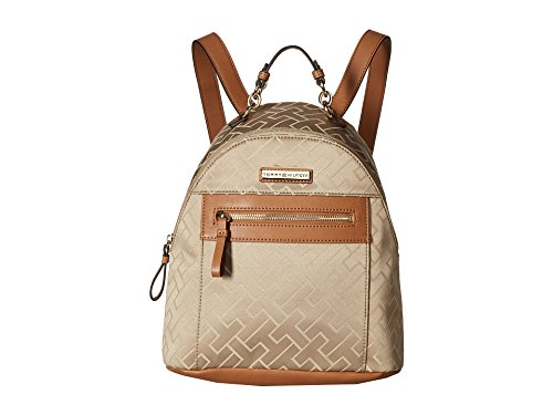 Tommy Hilfiger Women's Claudia Dome Backpack Khaki Tonal One Size