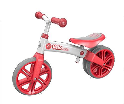 Y-Volution Kinder Laufräder Y Velo Balance Bike, Rot, 100140
