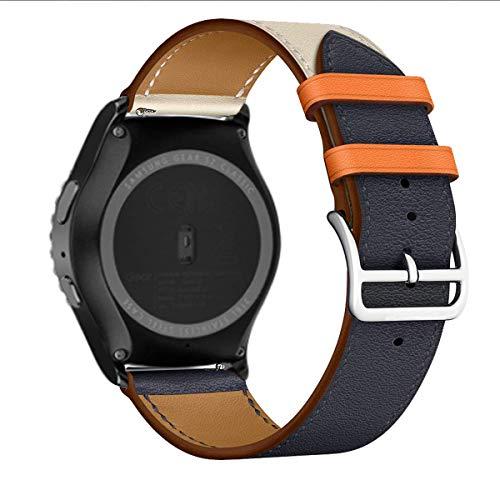 MroTech Cinturino Compatibile per Samsung Gear Sport/S2 Classic/Galaxy Watch 42mm/Active/Active2/Amazfit Bip/Huawei Watch 2/Garmin...