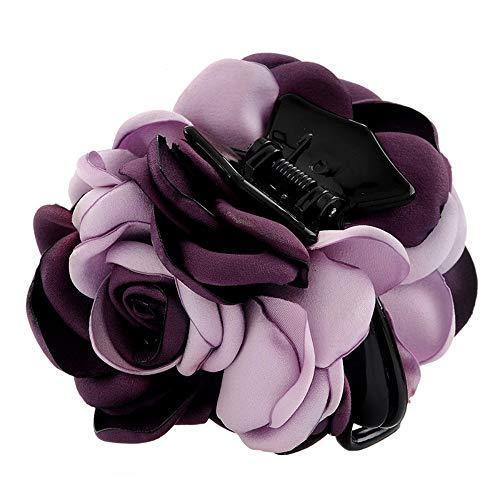 Kopfschmuckclip Haarnadel Haarnadel Haarnadelgröße Valentinstagclip Kopfbedeckung für Erwachsene, Violett (Violett 091)