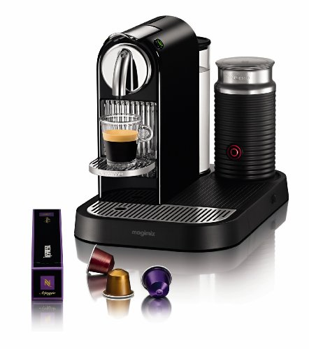 Nespresso Citiz and Milk Coffee Machine, Limousine Black by Magimix