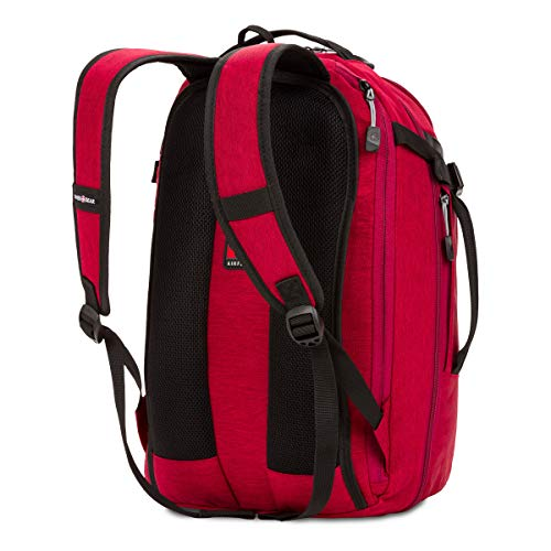 Swiss Gear Hybrid 21 Ltrs Red Laptop Backpack (3555431416) Image 3
